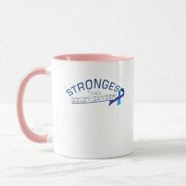 Stronges Colon Cancer Awareness Gift Mug