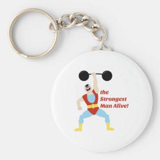 Strongest Man Keychain