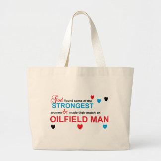 Strongest women jumbo tote bag