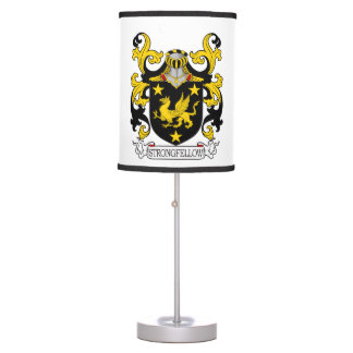 Strongfellow Family Crest Desk Lamp