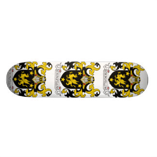 Strongfellow Family Crest Skate Board