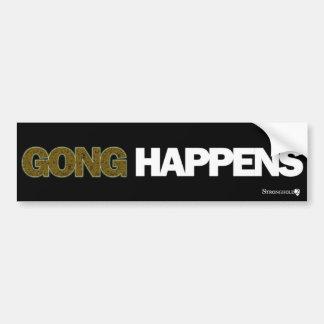Stronghold 2 - Gong Happens Car Bumper Sticker