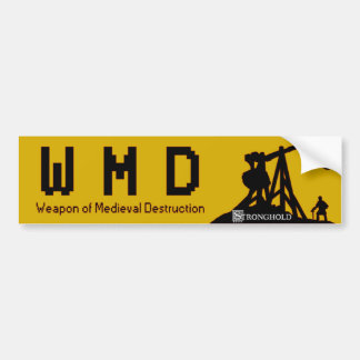 Stronghold - WMD Car Bumper Sticker