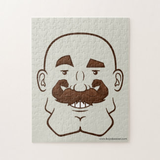 Strongstache (Bald, Brown Hair) Puzzles
