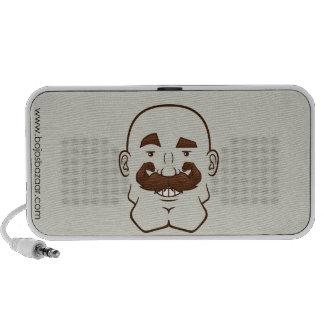 Strongstache (Bald, Brown Hair) Speaker