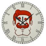 Strongstache (pelo rojo recto) relojes