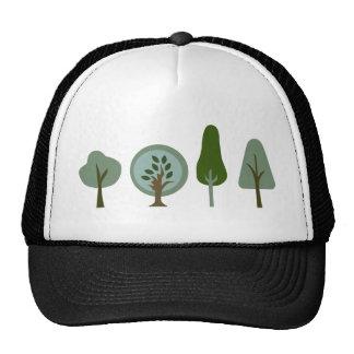 StrongTreeLineB Trucker Hat