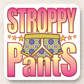 Stroppy Flowery Pants Coaster