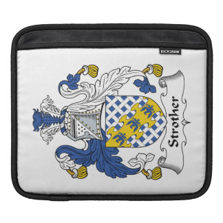 Strother Family Crest Sleeves For iPads