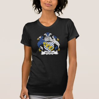 Strother Family Crest T Shirt