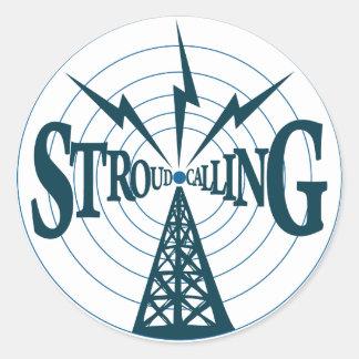 Stroud Calling Logo - 1 5inch Sticker