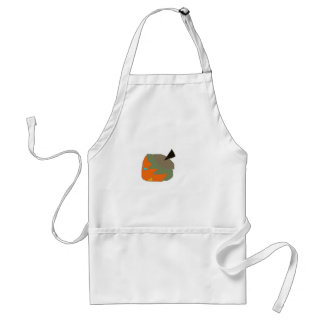 Strow character comedic from cartoon adult apron