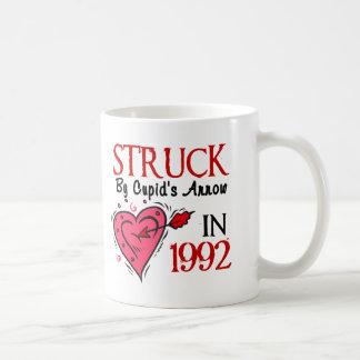 Struck By Cupid's Arrow In 1992 Coffee Mug