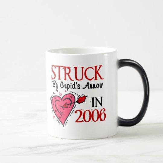 Struck By Cupid's Arrow In 2006 Magic Mug