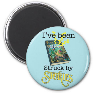 Struck by Stories Magnet