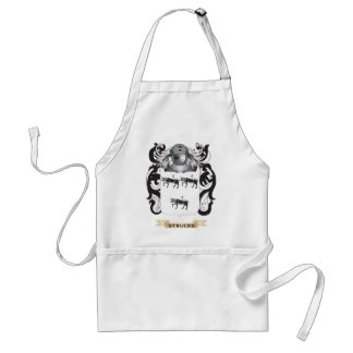 Strucks Coat of Arms (Family Crest) Aprons