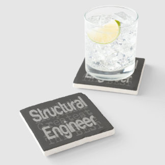 Structural Engineer Extraordinaire Stone Coaster
