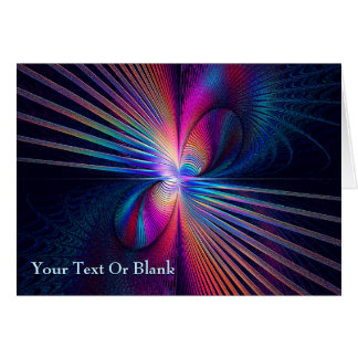 Structural Iridescence Greeting Card