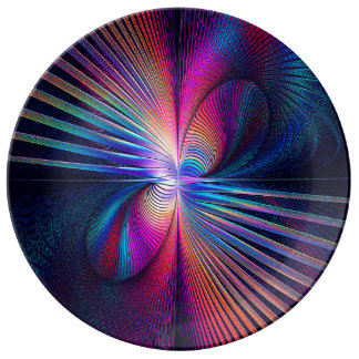 Structural Iridescence Dinner Plate