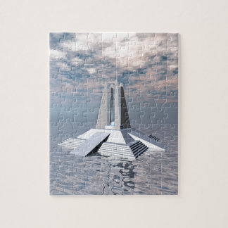 Structural Tower of Atlantis Jigsaw Puzzle