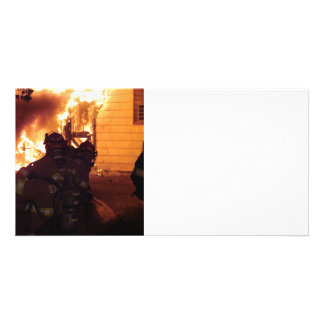 Structure Fire Card