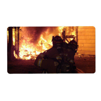 Structure Fire Label
