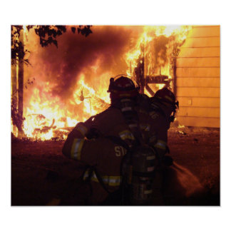Structure Fire Poster