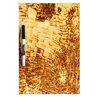 structure golden Dry-Erase board