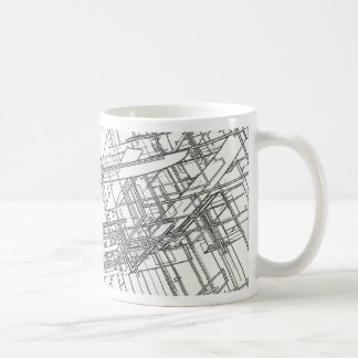 structure classic white coffee mug