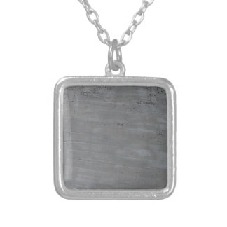 Structure of cement silver plated necklace