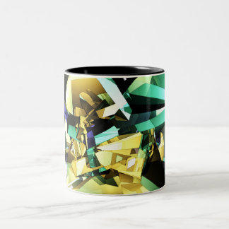 Structure of Color Two-Tone Coffee Mug