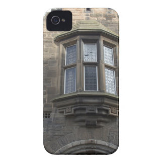 Structure of upper part of gate of Edinburgh castl iPhone 4 Cases