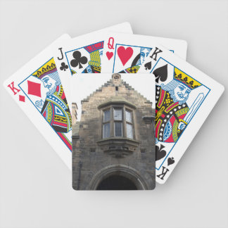 Structure of upper part of gate of Edinburgh castl Playing Cards