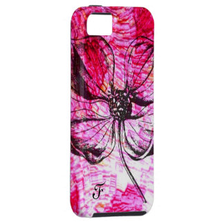 structure pink flower, selectable text iPhone 5 covers