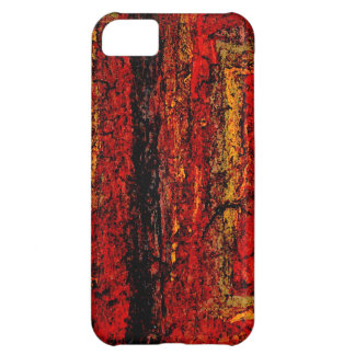 Structure Red African Abstract iPhone 5C Cover