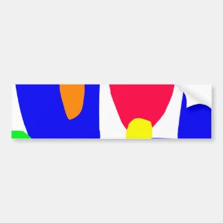 Structure Red Egg Playground Slim Snake.pdf Bumper Sticker