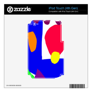 Structure Red Egg Playground Slim Snake.pdf Decal For iPod Touch 4G