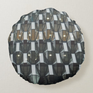 Structure Round Pillow