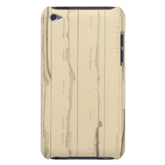 Structure sections through the high plateaus Utah Barely There iPod Case