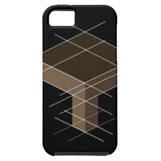 Structure with reference lines iPhone SE/5/5s case