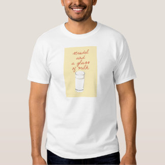 Strudel And A Glass Of Milk T-shirt
