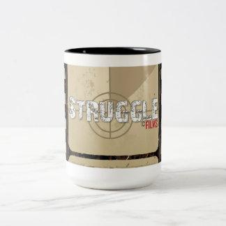 Struggle Films Two-Tone Mug
