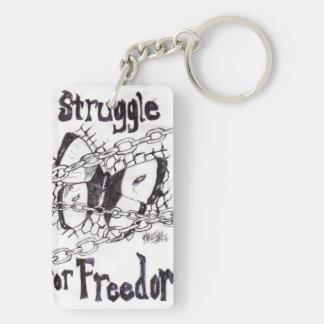Struggle for Freedom keychain