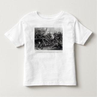 Struggle on a Bridge During the Retreat Toddler T-shirt
