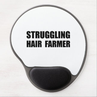 Struggling Hair Farmer Gel Mouse Pad