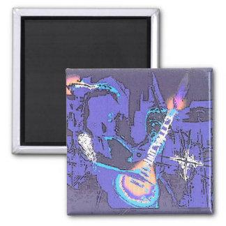 strummer 2 inch square magnet
