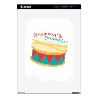 Strummin & Drummin Skins For iPad 3