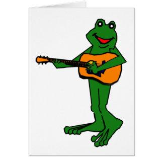 Strumming Fred Card