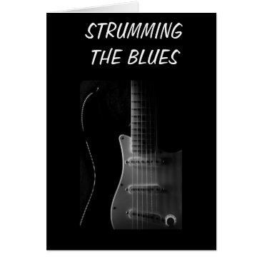 friendshipandfun STRUMMING THE BLUES (MISS YOU) CARD