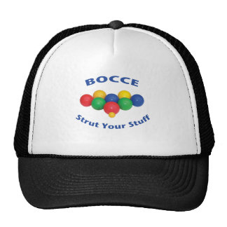 Strut Your Stuff Bocce Ball Trucker Hat